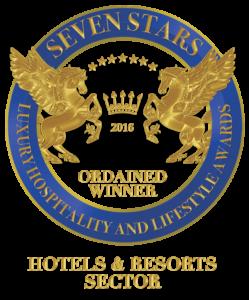 SIGNUM VIRTUTIS - PEČEŤ VYNIKAJÍCÍ KVALITY od Seven Stars Luxury Hospitality and Lifestyle Awards 2016